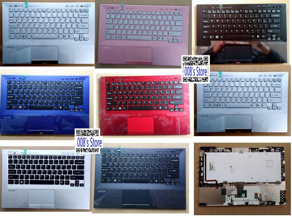 New Palmrest For SONY VPCSA VPCSD PCG-4121GL VPCSB38FJ/P VPCSB38FJ/W VPCSB39FJ/B VPCSB3AJ Upper US Keyboard Backlit TouchPad