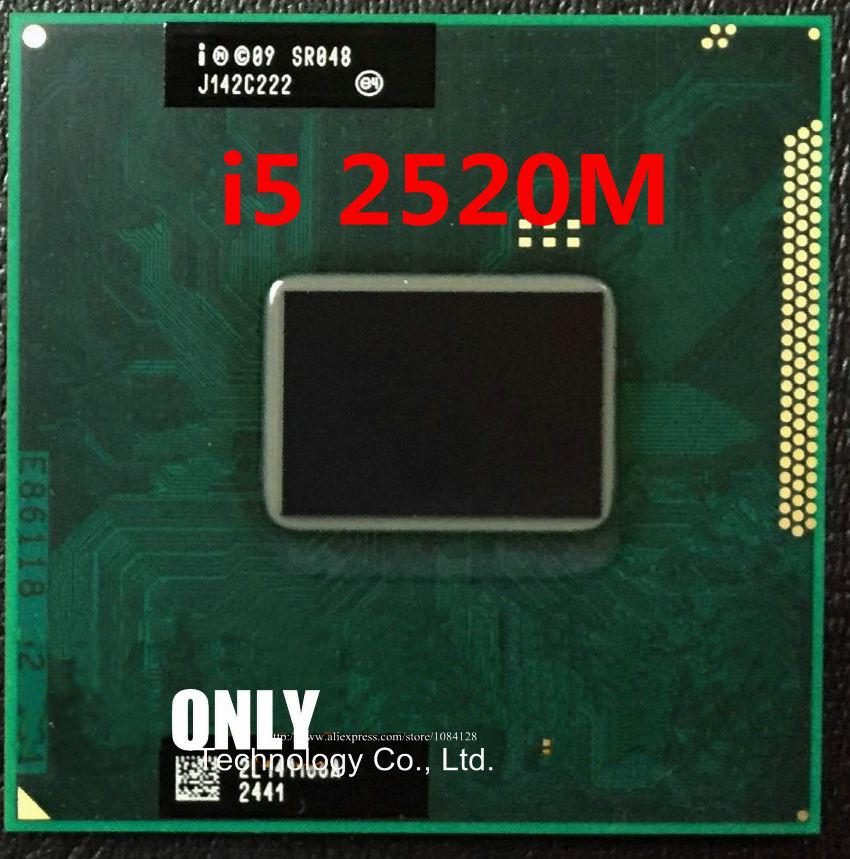 Процессор I5-2520M SR048 I5 2520M SRO48 2,5G/3M HM65 HM67 100% чипов, новый и оригинальный IC