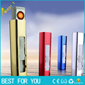 50pcs/lot USB Cigarette smoking pipe Lighter Portable Rechargeable USB Electronic usb offer torch butane gas lighter grinder