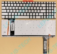 New RUSSIA Silver Laptop keyboard for ASUS N550 N550LF N550JV N750 N56 N76 Silver RU Backlit keyboard