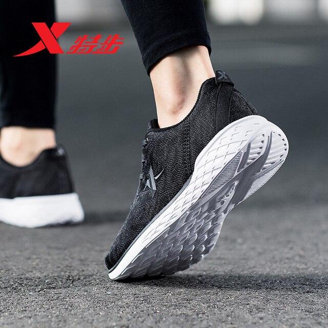 882318629021 XTEP 2018 зима для женщин кроссовки спортивная обувь мужчин's Кроссовки Спортивная Атлетическая обувь для мужчин Бесплатная доставка