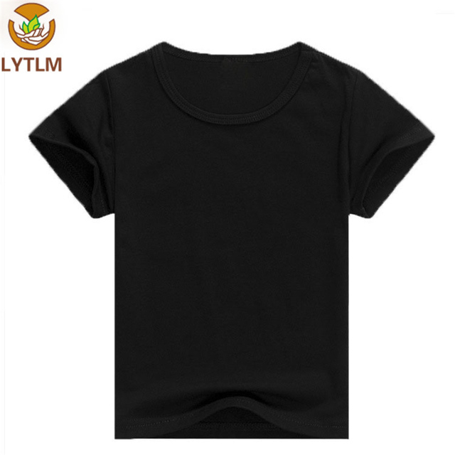 5d976a151 LYTLM Baby Boy Clothes Summer 2018 Korean Top for Girls Toddler Boys T- shirts Casual Baby Children Clothing 2 4 6 8 10 12 years