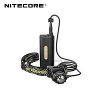 Novo quente nitecore hc70 cree XM L2 u2 led 1000 lumens de alto desempenho recarregável caverna explorando farol para espeleologia Faróis de LED     -