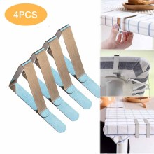 4PCS Tablecloth Clips Stainless Steel Table Cloth Holders Party Picnic Table Cover Clamps Kitchen Dining Table Clip александр давыдов женщина в