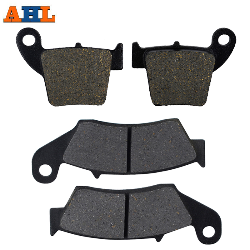 Front & Rear Motorcycle Brake Pads For Honda CRF250R CRF250 X 2004-2015 CRF450R CRF450 X 2002-2015 CRF 250 450 R Brake Disc Pad