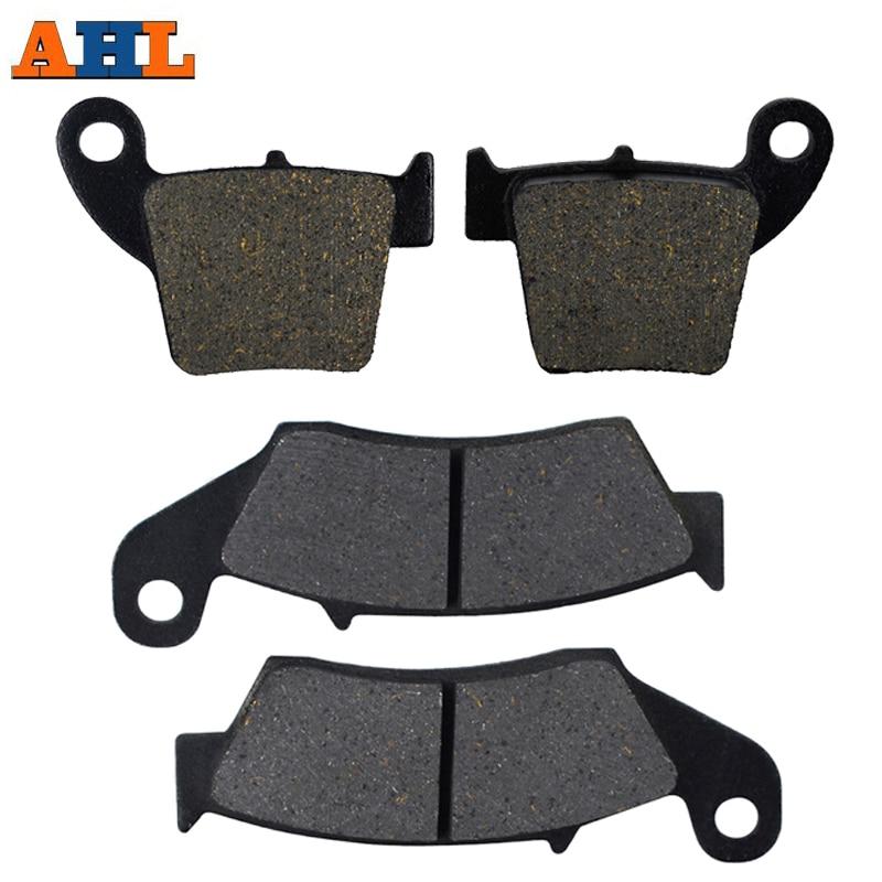 Front & Rear Motorcycle Brake Pads For Honda CRF250R CRF250 X 2004-2015 CRF450R CRF450 X 2002-2015 Brake Disc Pad