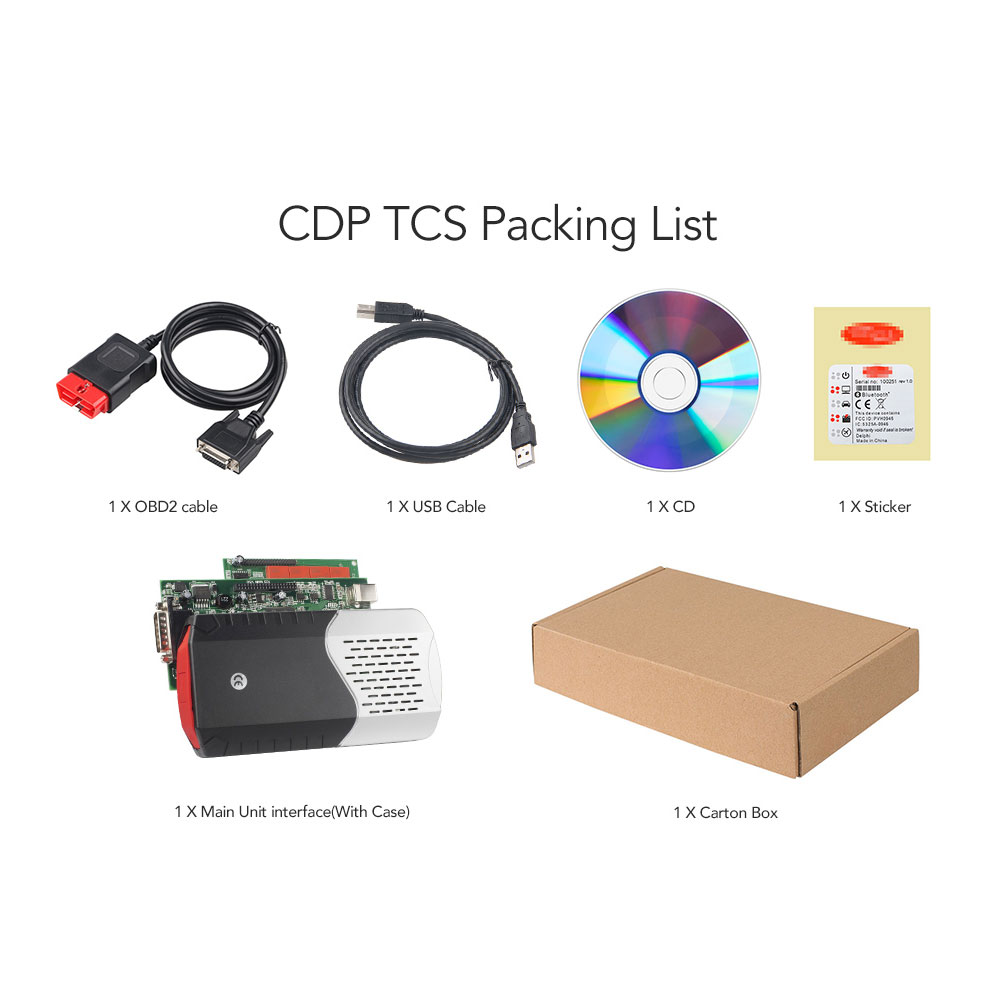 Image 5 - 10pcs/Lot CDP TCS New VCI 2016 R0 keygen Dual Green Board V3.0 9241A OBDII/OBD2 Diagnostic Tool Auto Scanner on