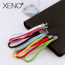 Short lanyard strap for phone Anti-slip Mobile Phone Straps Cord Phone Hand Rope Lanyard for phone accessories squishy Strap(China)