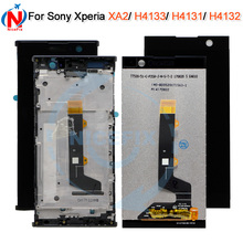 For Sony Xperia XA2 XA 2 H3113 H3123 H3133 H4113 H4133 LCD DIsplay With Touch Screen Digitizer Assembly+frame For sony XA2 LCD