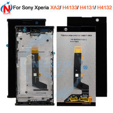Per sony xperia XA2 XA 2 H3113 H3123 H3133 H4113 H4133 DISPLAY Lcd CON Touch Screen Digitizer Assembly + frame per sony XA2 LCD(China)