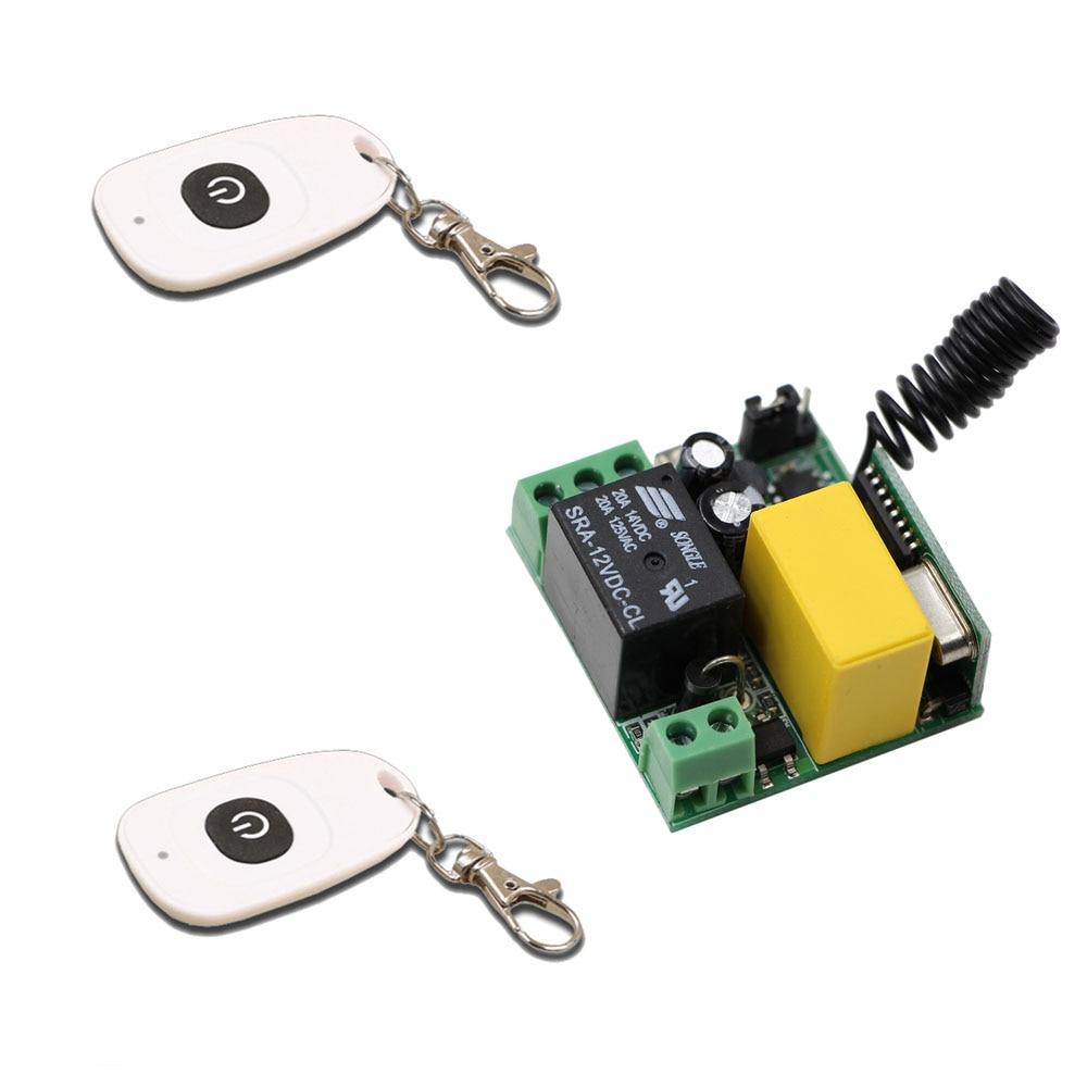 Smart Home AC220V 1CH Wireless Remote Control System