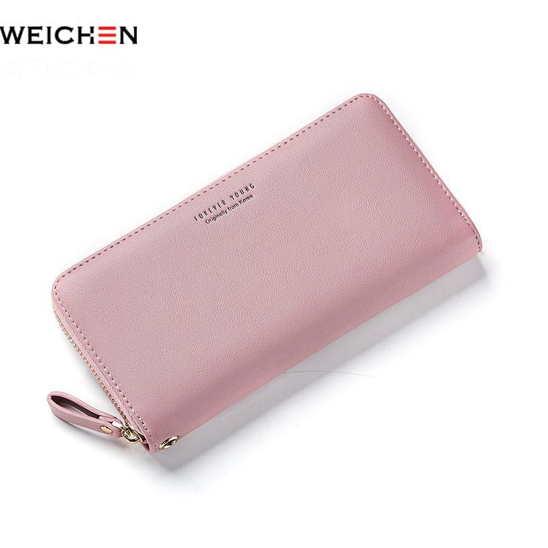 Weichen Female Purse Wallet Phone-Card-Holder Long Clutch Designed Large-Capacity Women