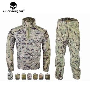 Image 2 - Emersongear HERREN Camouflage anzug Tactical Sportwear Militär Kampf Trainingsanzug Herbst & Winter Lange Ärmeln Herren Sport Anzüge