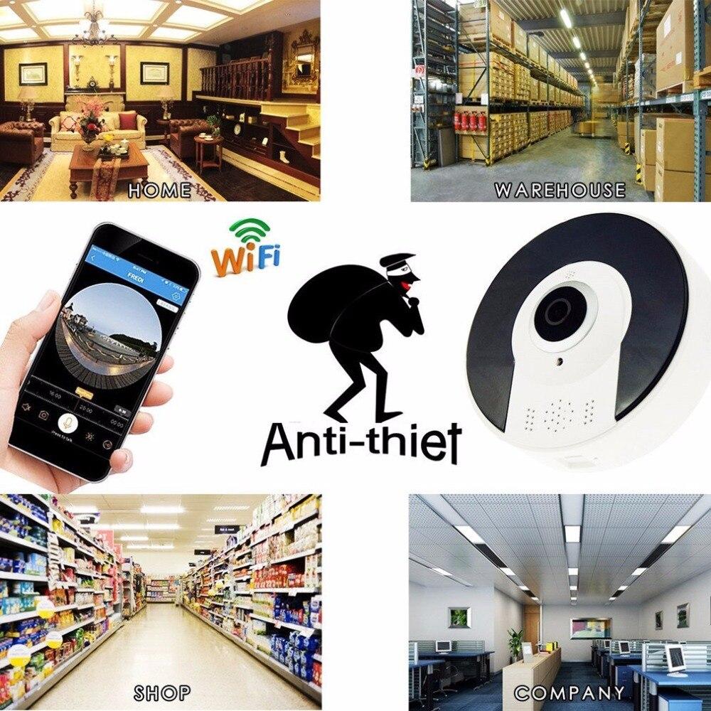 Kruiqi Home Security 1.3MP IP Kamera Wireless WiFi Panoamic IP Kamera Überwachung 960 p Nachtsicht CCTV Baby Monitor 1280*960 - 4