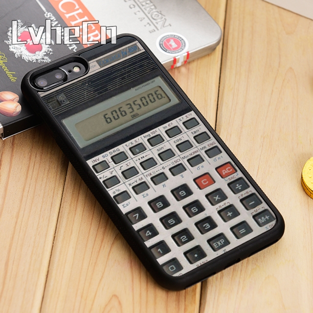LvheCn Camera Cassette Tapes Calculator Phone Case Cover For iPhone 5 6s 7 8 plus 11 12 Pro X XR XS max Samsung S7 edge S9 S10