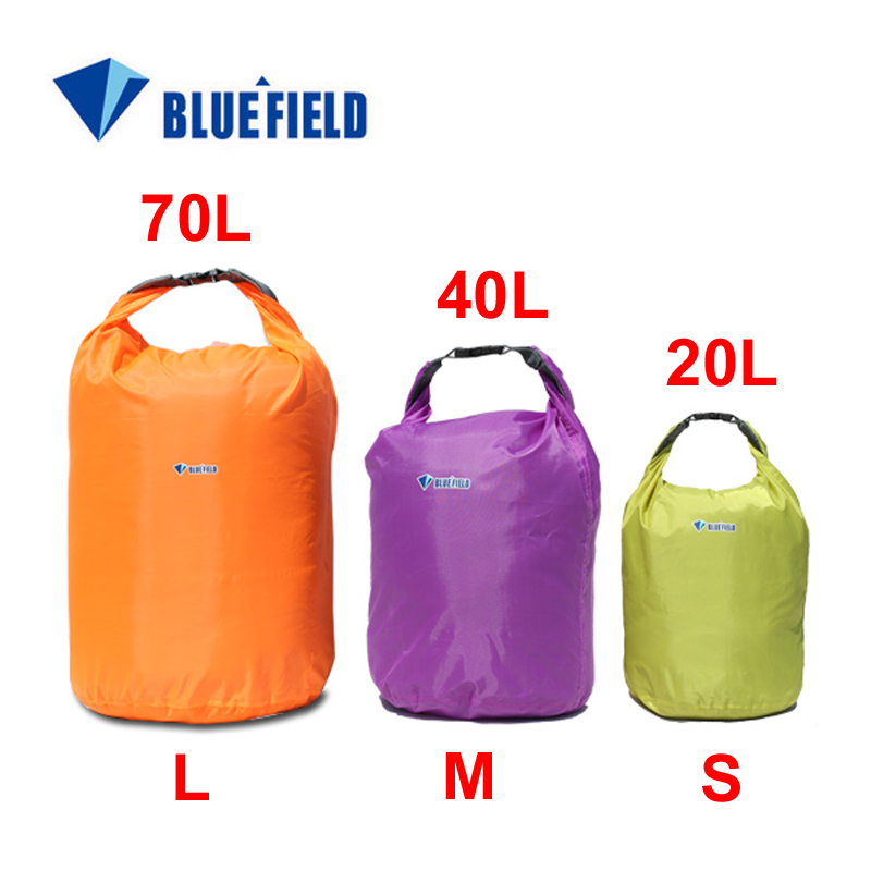 Swimming 3pcs/set Bluefield Outdoor Sports 20l 40l 70l Waterproof Dry Bag For Canoe Kayak Rafting Camping Swimming Ample Supply And Prompt Delivery