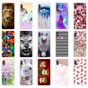 S silicone case For 5.99 inch Xiaomi Redmi Note 5 global pro Case Cover redmi note 5 Snapdragon 636 version note5 pro case image