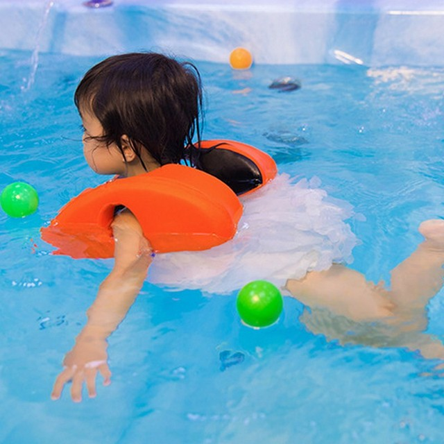 non-inflatable armpit child swimming equipment 1-6 old Baby shoulder ring arm float swimming pool accessories kids are float