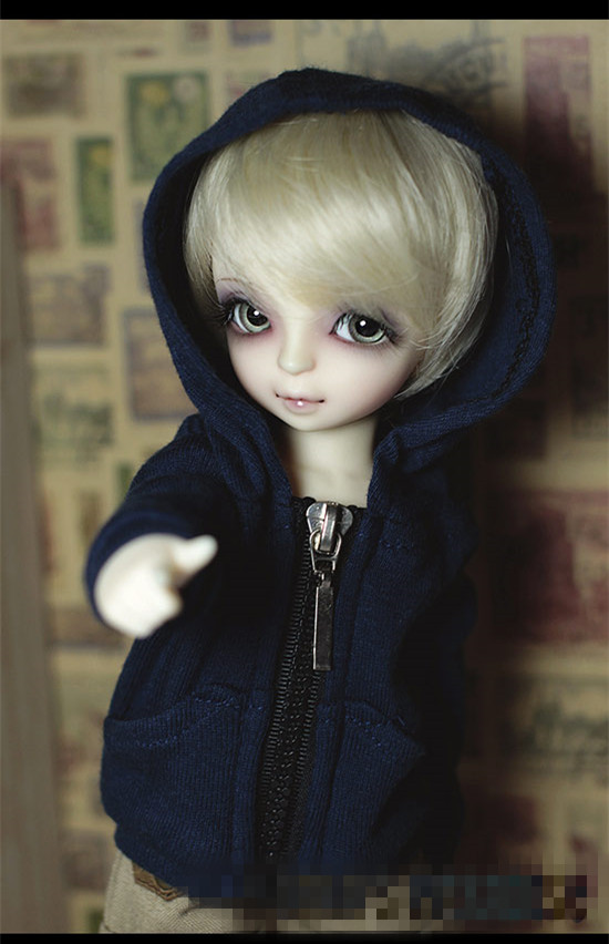 6417a32aaf7 Casual Hooded Jacket Top for 1 6 YOSD BJD Doll Clothes CMB3 1-in ...