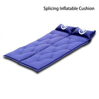Outdoor camping mat tents Air mattress nap Beach mats self inflating mat sleeping bag pad inflatable mattress