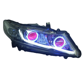 Daytime Luces Para Exterior Parts Auto Running Automobiles Assessoires Led Headlights Car Lights Assembly For Honda Odyssey honda odyssey