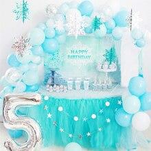 Светильник, синий, белый, серебряный, бумажный, снежинка, снежный воздушный шар, гирлянда, детский душ, пусть идет снег, зима, страна чудес, день рождения, украшение для вечеринки