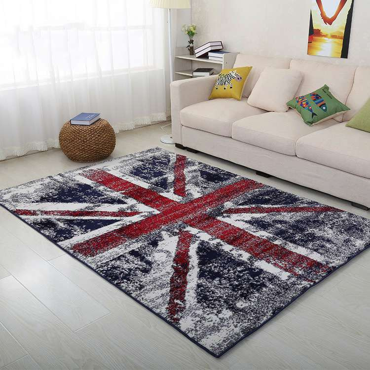 Mat For Home Parlor Bedroom Living Room 9 Dimensions: YOOSA Big Area Rugs Meter Flag Durable Carpet For Living