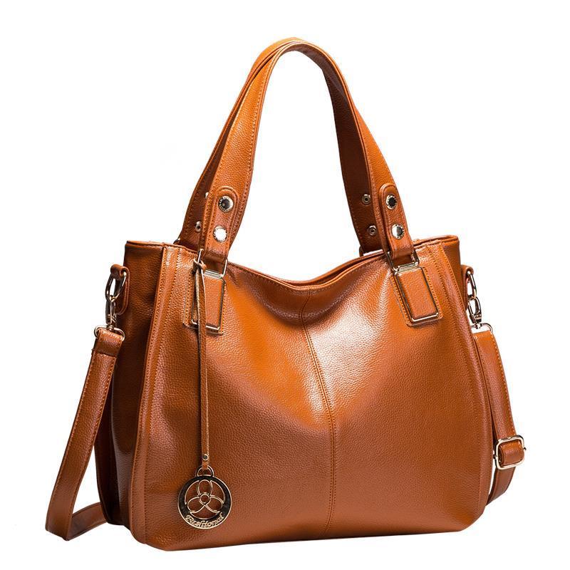 Hot Sale New 2017 Brand Handbag Famous Brands Genuine Leather Bags Women Handbag