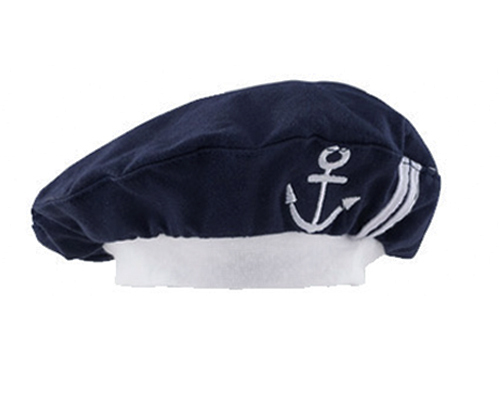 01ae9f5ff9c Baby Girl Navy Hat Cosplay Sailor Style Infant Boy Winter Hats Cute Toddler  Hat Spring And Autumn Cap Accessories