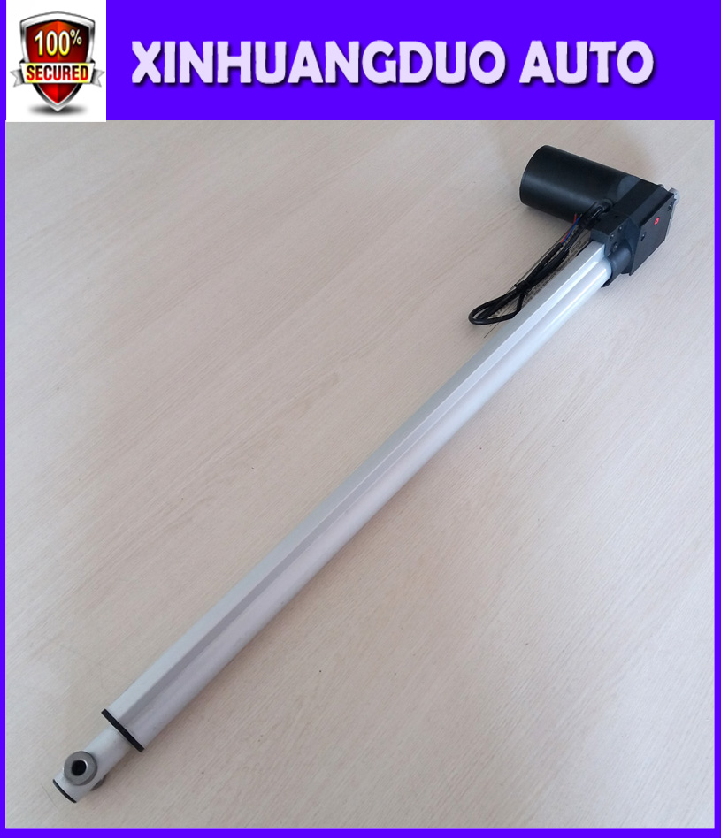 12v 24V 600mm 24inch micro linear actuator electric linear actuator thrust 5000N 500KG 1100LBS tv lift