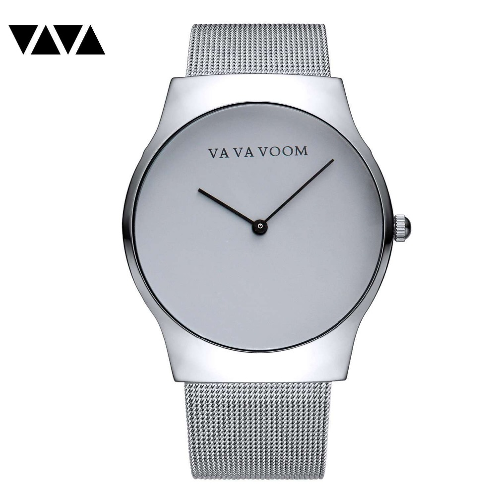 VA VA VOOM Top Brand Luxury Men's Watch Minimalist Wrist Watch Men Watch Sport Watches Clock Relogio Masculino Reloj Hombre va va voom платье page 2