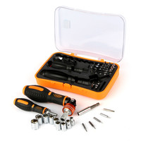 JAKEMY JM 6101 multitool screw driver set torx ratchet bits electric screwdriver for computer cell phone home repair