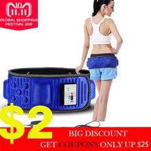 Electric Vibrating Waist Exercise Leg Belly Fat Burning Heating Abdomen Massager