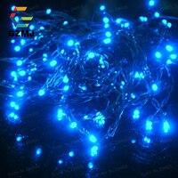 10m שמש LED מחרוזת פיית אורות חג המולד חיצוני קישוטי פסטיבל עץ חלון דלת מנורות בית מסיבת חג המולד אורות זר