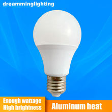 E27 Led Lamp 110v/220v Beige Plastic Shell Interior Living Lighting Life 3w 5w 7w 9w 12w 15w 20w Cold Warm White Bulbs