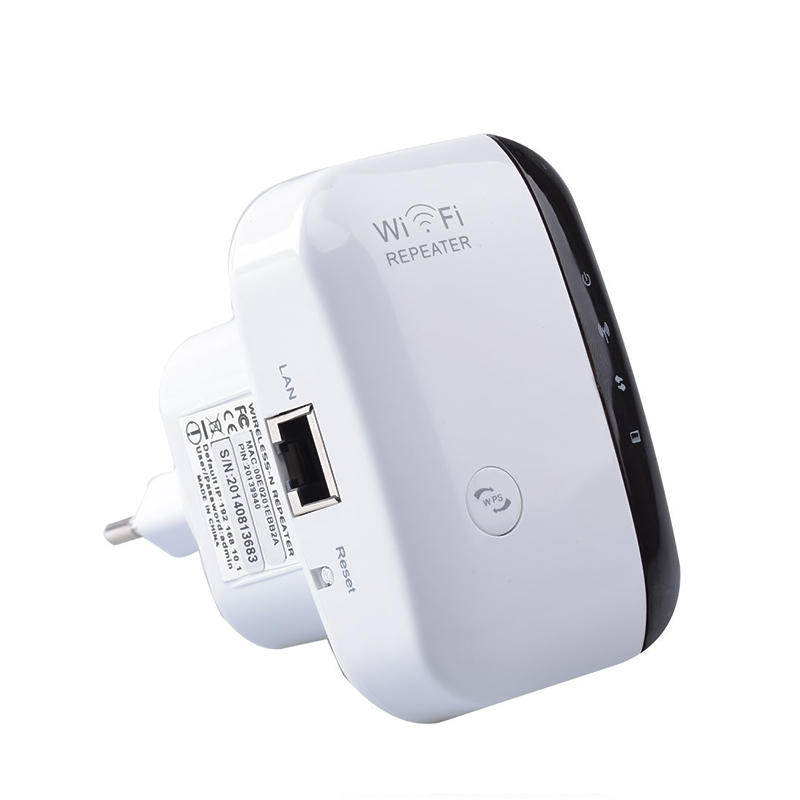 Wireless Wifi Repeater 802.11N/B/G 300Mbps Network Wi-fi Range Expander Antenna Wi Fi Roteador Signal Amplifier Repetidor Wps