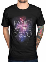 Panic At The Disco T Shirt Men Live In Chicago Pretty Gift Casual Printed T Shirt