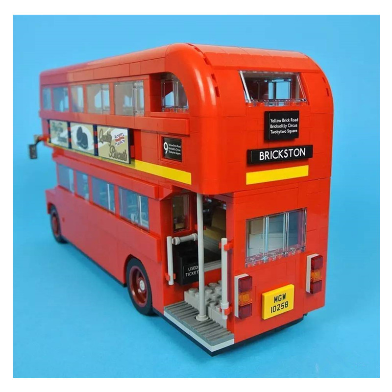 Здесь продается  WAZ Compatible Legoe Genuine Technic Series 10258 Lepin 21045 1716pcs London Bus building blocks Figure bricks toys for children  Игрушки и Хобби