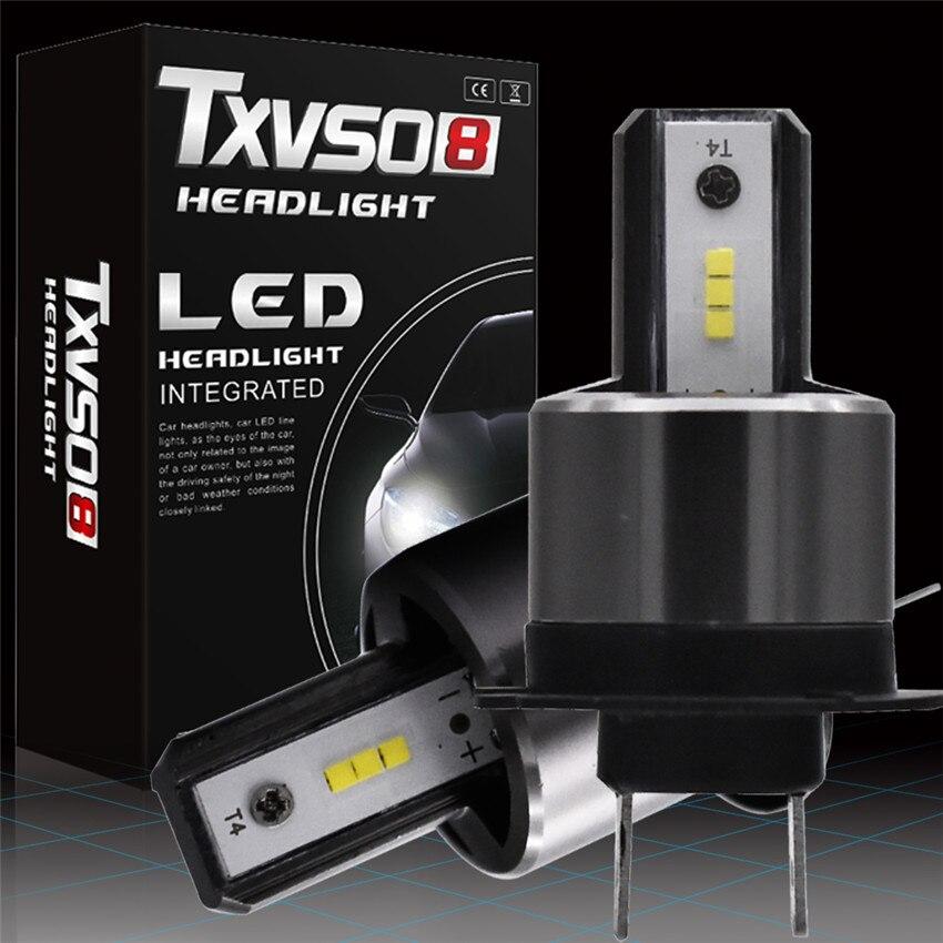 TXVSO8 2X6000 K DC 9 V 32 V светодиодный h7 фар автомобиля луковицы Наборы-светодиодный csp чипов-26000LM 6000 K (упаковка из 2) 55 W/лампы передние фары