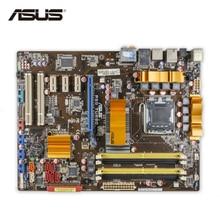ASUS P5Q Turbo оригинальный использоваться для настольных ПК P45 разъем LGA 775 DDR2 16 г SATA2 USB2.0 ATX