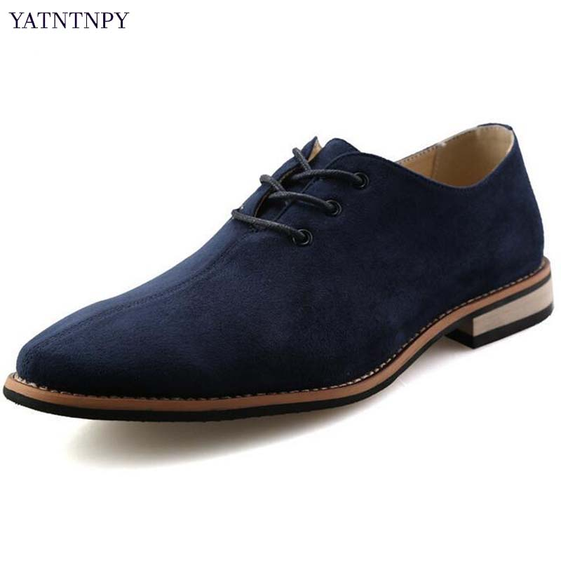 world-wide free shipping top-rated cheap rich and magnificent US $28.32 35% OFF|YATNTNPY Men Casual Formal dress shoes ,Good Quality  Leather Shoes For Man, Pointed Toe Business Oxfords 3colors-in Formal Shoes  ...