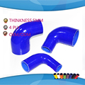 4 ply  ID:25/30/32/35/38/45/50/51/57/60/63/64/70/76MM 90 Degree Eblow Silicone hose Reducer Coupler