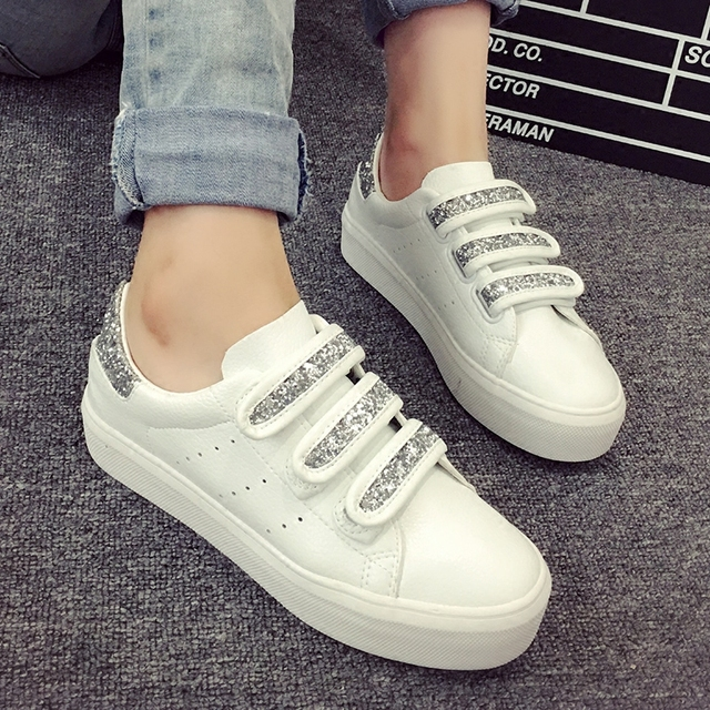 Free shipping Spring new heavy-bottomed leather casual shoes to help low  white shoes shiny shoes breathable 312ee8b285a1