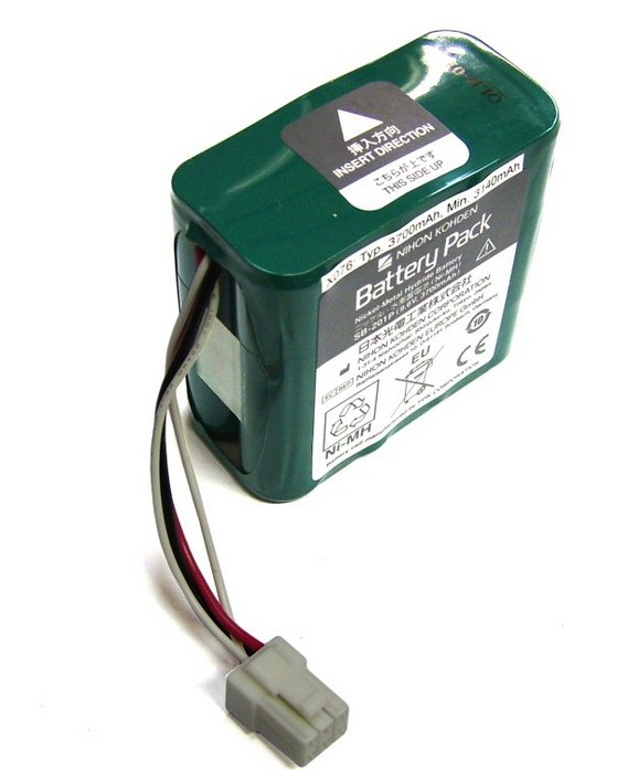 Original New For Nihon Kohden PVM-2700 PVM-2703 PVM-2701 SB-201P X076 monitor rechargeable battery 12V 3700mAh Free Shipping  спец sb 2700
