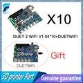 10 stücke Geklont Duet 2 Wifi V1.04 DuetWifi Erweiterte 32 Bit Elektronik Bord Kaufen 10 Senden 11 Für BLV MGN cube 3D Drucker CNC Maschine