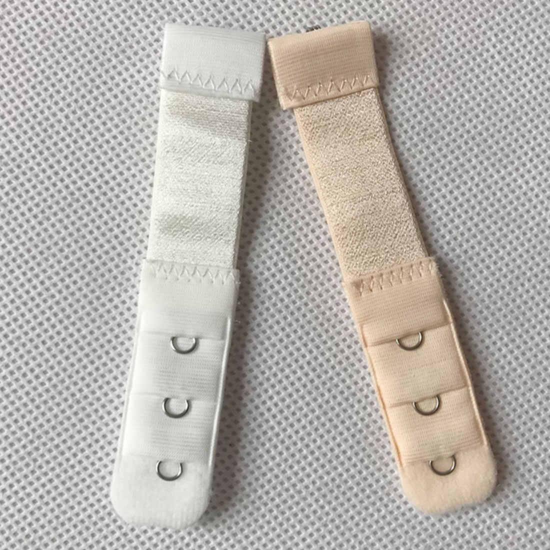 Новинка, 1 шт., 1 ряд, 3 крючка, удлинитель для бюстгальтера, нейлоновая застежка, эластичные бюстгальтеры на ремешке, регулируемые интимные аксессуары
