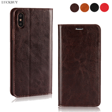 For iPhone 11 Pro Max Slim Genuine Leather Luxury Wallet Flip Cover Apple 7 8 Plus iphone XS X XR Mobile