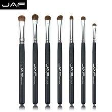 JAF 7 PCS Eye Shadow Makeup Brush Set Professional Natural Pony Hair Make Up Brushes Soft Eyeshadow Brushes for Makeup JE07PY