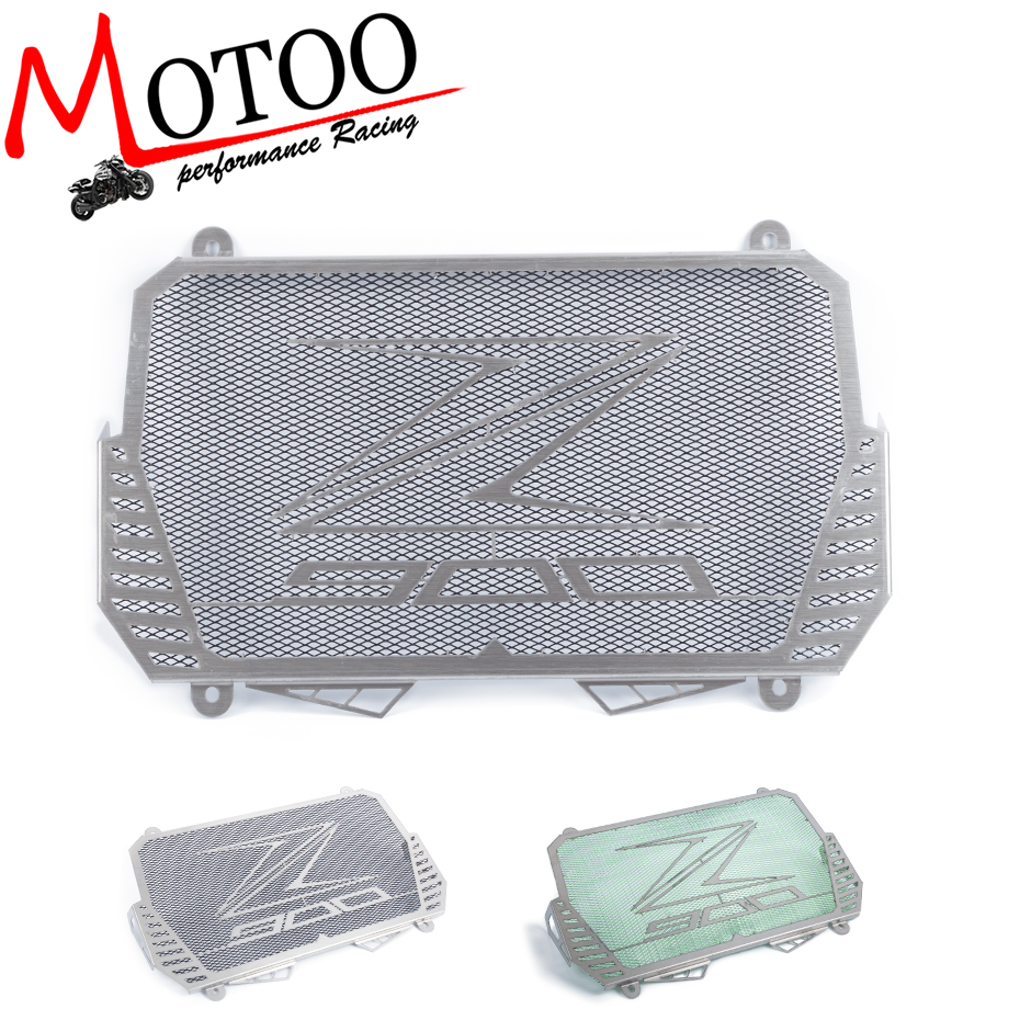 Motoo - New Arrival For Kawasaki Z900 2017 Stainless Steel Motorcycle radiator guard protector cover Bezel Grille motorcycle radiator grille grill guard cover protector golden for kawasaki zx6r 2009 2010 2011 2012 2013 2014 2015