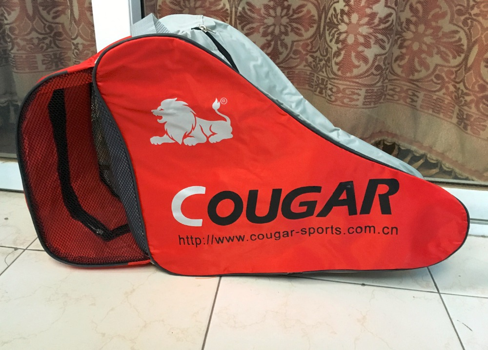 Kids Adult Roller Skate Bag Portable Carry Bag Shoulder Bag Big Capacity Skating Accessories